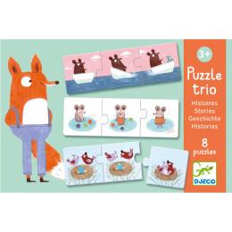 Puzzle trio Histoires - à partir de 3 ans