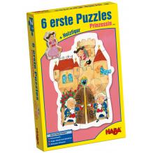 6 premiers puzzles 'Princesse' - à partir de 2 ans