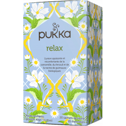 Infusion relax 20 infusettes BIO
