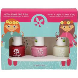 Set de 3 vernis à ongles pour enfant - 9 ml - à partir de 3 ans