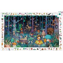 Puzzle d'observation Forêt enchantée - 100 pièces - à partir de 5 ans
