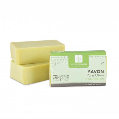 Savon Pure Olive sans parfum 100 gr
