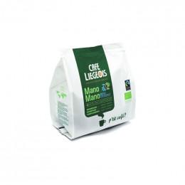 Café Bio et Fair Trade Mano Mano 18 Pads
