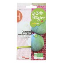 Courgette ronde de Nice - Cucurbita pepo L. - 1,5g