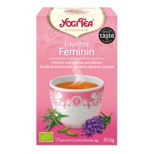 Infusion Equilibre féminin 17 sachets