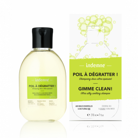 Poil à dégratter! Shampooing doux ultra apaisant - 210ml