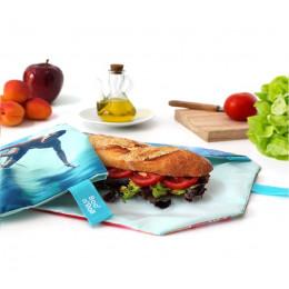 Pochette sandwich lavable et réutilisable Boc'n'Roll - Young Surf