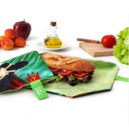 Pochette sandwich lavable et réutilisable Boc'n'Roll - Young Wild