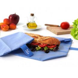 Pochette sandwich lavable et réutilisable Boc'n'Roll - Eco Blue