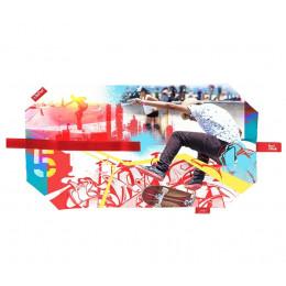 Pochette sandwich lavable et réutilisable Boc'n'Roll - Toung Skate