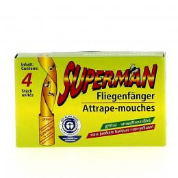 Papier Attrape-mouches - 4 pièces