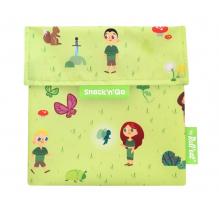 Pochette casse-croûtes lavable et réutilisable Snack'n'Go - Kid Green