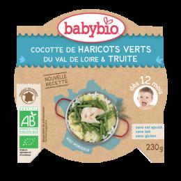 Mon P'tit Plat - Légumes Verts et Truite d'Irlande (dès 12 mois)