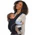 Porte-bébé Baby carrier en coton BIO - Nigth black
