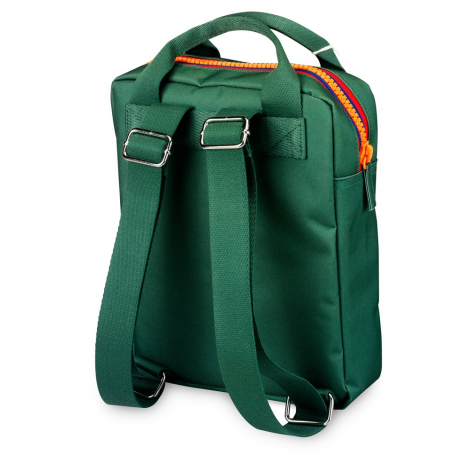 Sac-à-dos small 'Zipper Green'