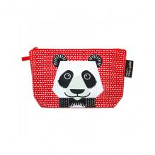 "Trousse à soufflets en coton BIO ""Panda"""