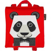 Sac à dos / cartable maternelle - Panda ROUGE