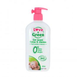 Gel lavant hypoallergénique Bio Corps et cheveux 500 ml