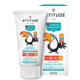 Crème solaire hypoallergénique SPF 30 sans parfum - 150 g PEREMPTION fin 04/2021