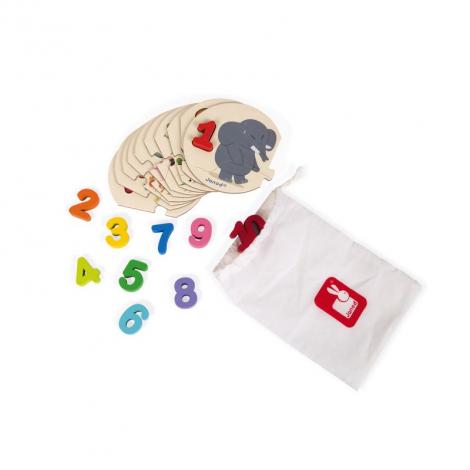 Puzzle - J'apprends à compter