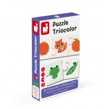 Puzzle Triocolor à partir de 3 ans