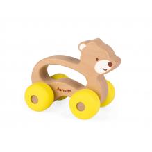 Ours à pousser sur roulettes Baby Pop à partir de 12 mois