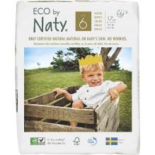 Couches jetables écologiques - Taille 6  XL - (+16 kg) 17 pièces