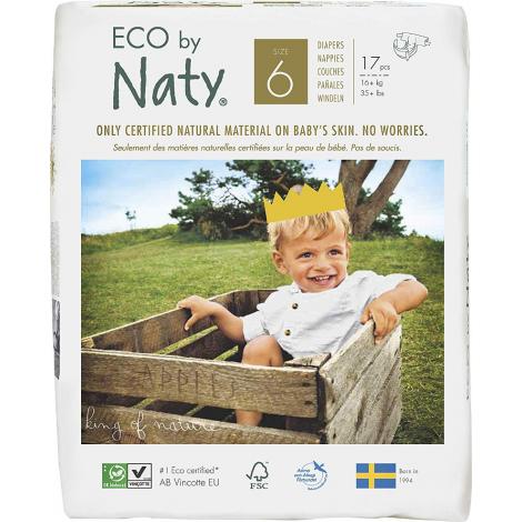 4 X Couches écologiques Ta6 XL 16kg+
