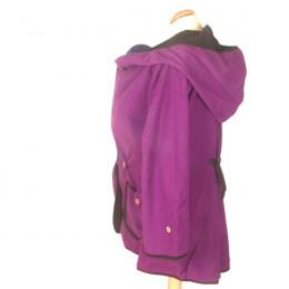 Manteau de maternité - Purple Hummingbird - taille unique