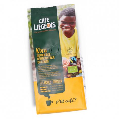 Café Bio et Faire Trade moulu Kivu - 250 g