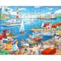 3 puzzles de 24 pièces - à la mer - à partir de 4 ans