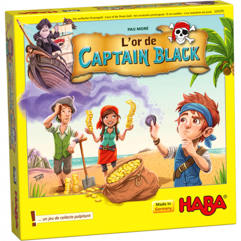 L'or de Captain Black - à partir de 5 ans