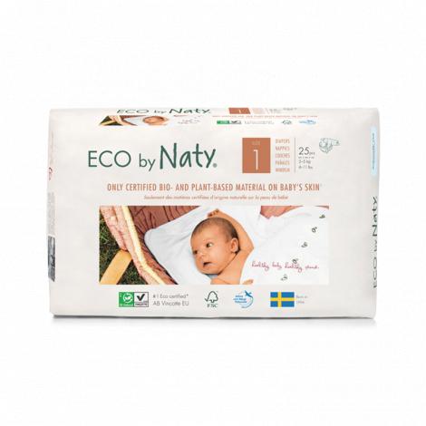 4 x Couches écologiques T1 Nouveau-né 2-5kg