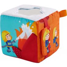 Cube jouet pompiers - à partir de 6 mois