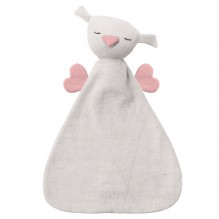 Doudou Hugo - Silver grey/old rose