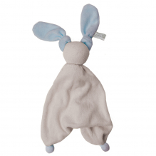 Doudou Floppy éponge - Silver grey/deep blue