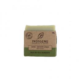 Savon saponifié à froid - Romarin et bois de hô - 100 g