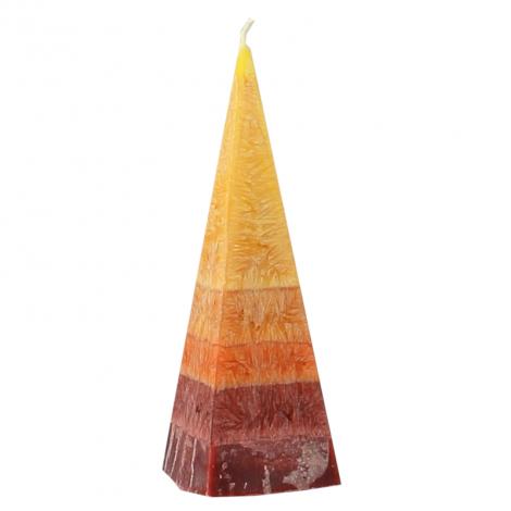 Bougie Stéarine Petite pyramide