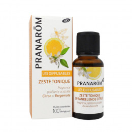 Les diffusables - Zeste tonique Bio - 30 ml