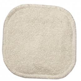 1 carré démaquillant lavable - Bambou écru - collection Eco Belle