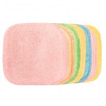 1 carré démaquillant lavable - Bambou couleur - collection Eco Belle