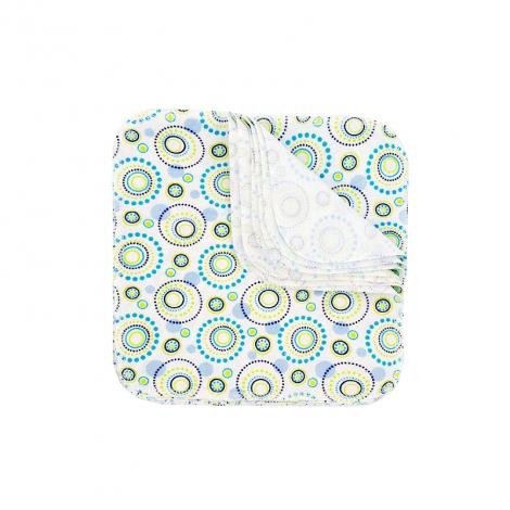 Lingettes lavables en flannelle - Orbit - Lot de 12