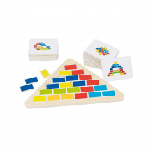 """Puzzle """"Triangle des couleurs"""" - à partir de 4 ans *"""