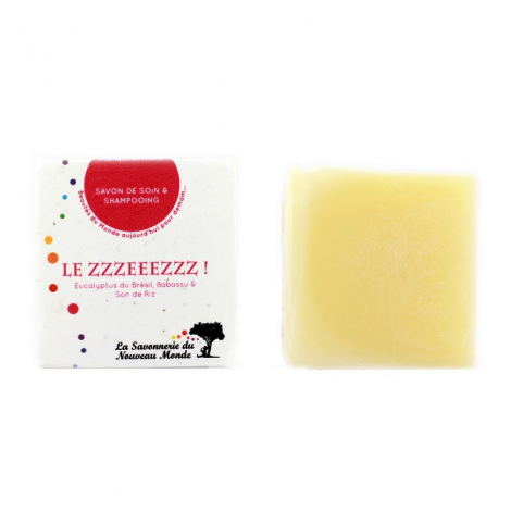 Savon de soin et shamppoing Le Zzzeeezzz ! 100 g
