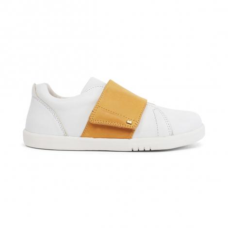 Chaussures Kid+ sum - Boston Trainer White + Chartreuse - 835409