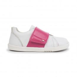 Chaussures Kid+ sum - Boston Trainer White + Pink - 835410