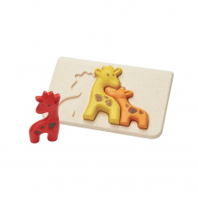 Puzzle famille girafes - à partir de 18 mois