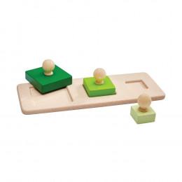 Puzzle de blocs - cubes - à partir de 12 mois