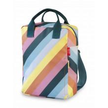 Sac à dos large Stripe Rainbow