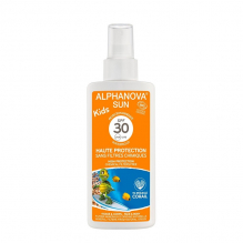 Lait solaire Kids  Bio Haute protection SPF 30  Spray 125 g